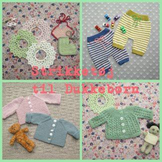 Strikketøj til dukkebørn