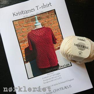 Kristianes T-shirt (samstrik)
